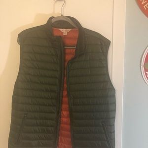 Brooks Brothers Puffer Vest - Green